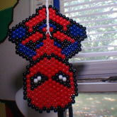 Spider-Man Peyote Stitch