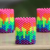 Melting Rainbow Cuff