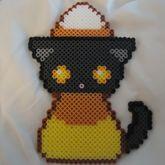 Cute Candy Corn Kitty