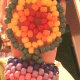 Kandi Rainbow Dream Catcher With Cuff