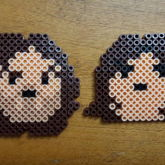 Dan & Arin From Game Grumps Perlers