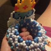 Ice King 3d Cuff/perler