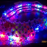 Kandi Visor  That Lights Up
