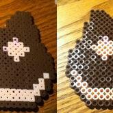 Cookie Cat Perler