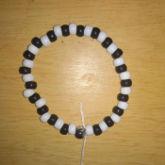 Black White Bracelet