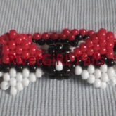 Pokeball Inspired Kandi Bowtie