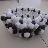Black And White 3D Xbase Cuff 1