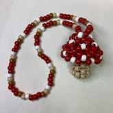 Kandi Mushroom Necklace