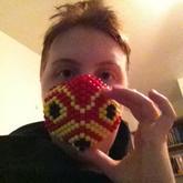 Finished Mononoke Mask