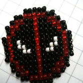 Beaded Deadpool
