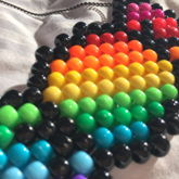 Old | Peyote Rainbow Candi Necklace