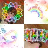 Rainbow Pride Carousel Cuff