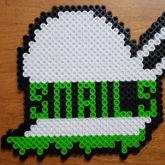 Snails Perler