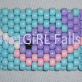 Pastel Narwhal Cuff