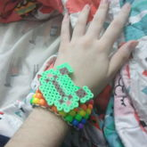 First Time Attaching Perler To Kandi!