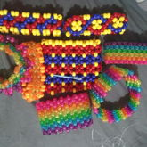 <3 Mostly Rainbow & Primary Color Cuffs <3