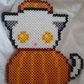 Cute Pumpkin Kitty