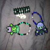 (didnt Make The Perlers Just Turned Them Into Bracelets)