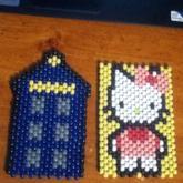 The Tardis And Hello Kitty