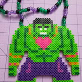 Rave Hulk Necklace