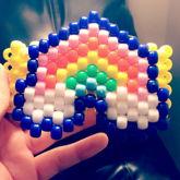 Magical Rainbow Cuff.