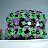 Glowy Green Mini Rotating Cuff 2/2
