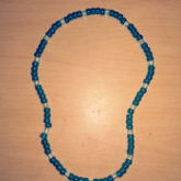 Blue Light Blue Necklace