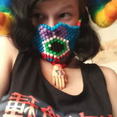 Eyeball Bow Mask