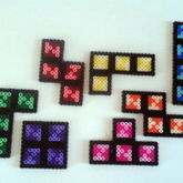 Tetris Pieces With Magnets
