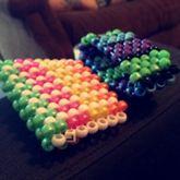 Rainbow & Blue, Green, Purple & Black