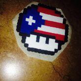 Puerto Rican Flag Mushroom