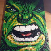 Hulk..hama Pearls