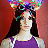 Kandi Headdress With Leds