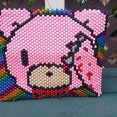 Finished Gloomy Bear/Hello Kitty Mashup Backpack