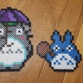 My Neighbor Totoro Perler