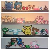 All Of My Perler Creations So Far :3