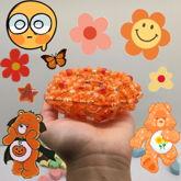 Orange SuperNova Cuff