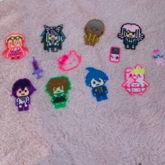 All My Perler Bead Designs :D