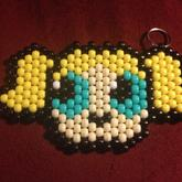 Set Of 4 Power Puff Girl Keychains 3