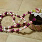 Kandi Cupcake Necklace :)