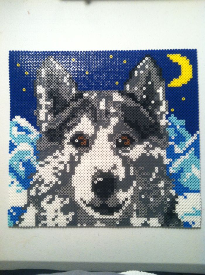 wolf by icrama kandi photos on kandi patterns