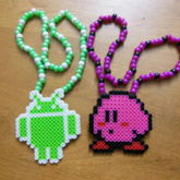 Android & Kirby Necklaces