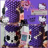 Hello Kitty Skull Cuff