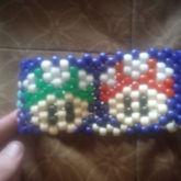 Mario Multi Colored Mushrooms 1