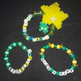 Green And Yellow Singles