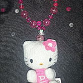 Hello Kitty Glass And Crystals  Pez Bracelet
