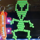 Bead Alien [ladder Stitch]