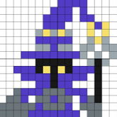 League Of Legends Veigar Perler Design