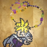 Mystic Gohan Perler Necklace