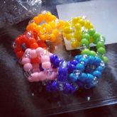 3D Rainbow Cube Cuff